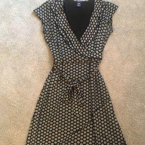 Gap faux wrap dress, size small